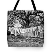 Line Drying - Laundry Tote Bag