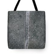 Line In The Bubbles  Tote Bag