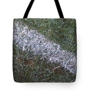 Line In The Grass Tote Bag
