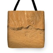 Line In The Sand Tote Bag