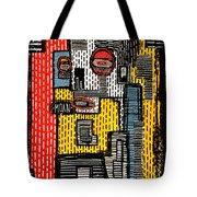 Linear Tote Bag