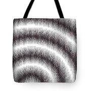 Linear Spiral Tote Bag