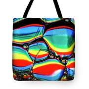 Lined Bubbles Tote Bag
