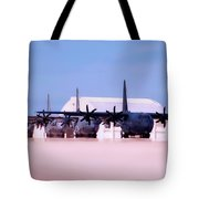 Lined Up And Ready Tote Bag
