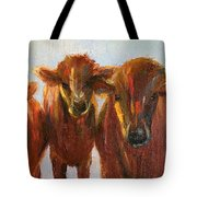 Lined Up For Supper Tote Bag