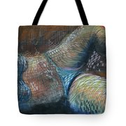 Lines And Curves Vi Tote Bag