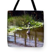 Lines And Reflection Tote Bag