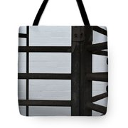 Lines And Spaces Tote Bag