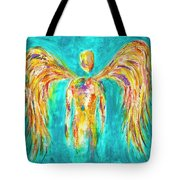 Lines Of Color In The Sky Tote Bag