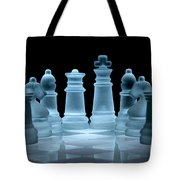 Lines Of Defence Tote Bag by Ann Garrett