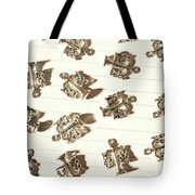 Lines Of Legalities Tote Bag