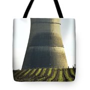 Lines To Power Tower Tote Bag