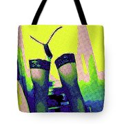 Lingerie Tease Pop Art Tote Bag