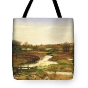 Lingering Autumn Tote Bag