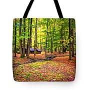Linn Run Pennsylvania 2 - Paint Tote Bag