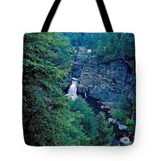 Linville Falls - North Carolina Tote Bag