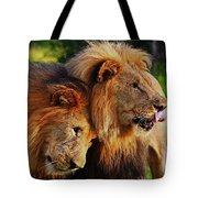 Lion 22 Tote Bag