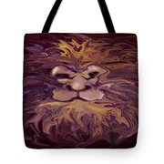 Lion Abstract Tote Bag
