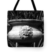 Lion And Serpents Tote Bag
