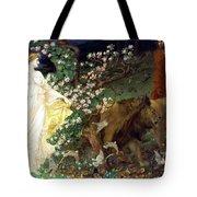 Lion Angel Tote Bag