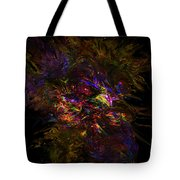 Lion Aura Tote Bag