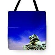 Lion Bluesky Tote Bag