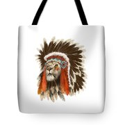 Lion Chief Tote Bag
