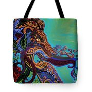 Lion Gargoyle Tote Bag