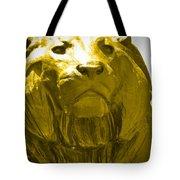 Lion Gold Tote Bag