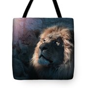 Lion Light Tote Bag by Bill Stephens