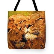 Lion Love #2 Tote Bag