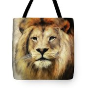 Lion Majesty Tote Bag