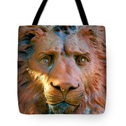 Lion Of Saint Augustine Tote Bag
