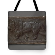 Lion Of The Colonne De Juillet Tote Bag