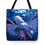 Lion Of The Deep Tote Bag