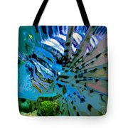 Lion Of The Sea Tote Bag