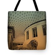 Lion On Guard Tote Bag