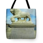 Lion On The North Side Tote Bag