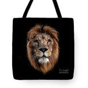 Lion Portrait Tote Bag