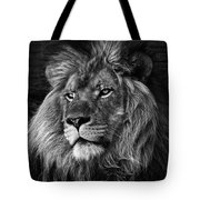 The Lion Pose Tote Bag by Ken Barrett