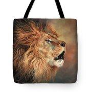 Lion Roar Profile Tote Bag