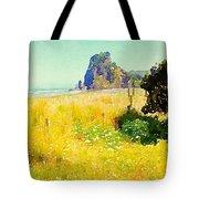 Lion Rock Painted Photo Tote Bag