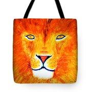 Lion Selfie Color Pop Tote Bag