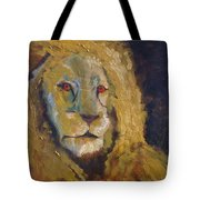 Lion Two Tote Bag