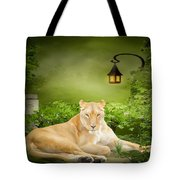 Lioness Dream Tote Bag