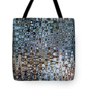 Lionfish Abstract Tote Bag