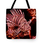 Lionfish Of The Sea Tote Bag