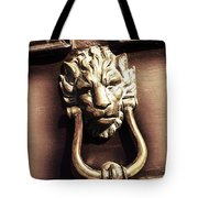 Lion's Den Tote Bag