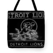 Lions Football Tote Bag
