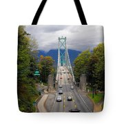 Lion's Gate Bridge Tote Bag